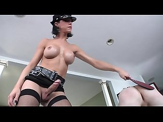 Shemale bangs her males studs tight ass after rimming