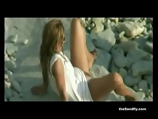 Thesandfly hot beach voyeurism