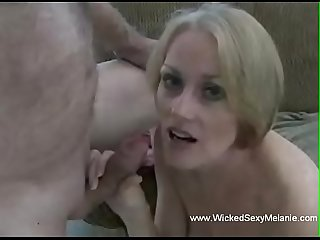 Giving Grannie a Creampie