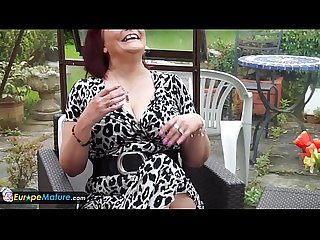Europemature mystery mature christina masturbation