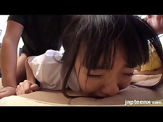 Very cute japanese young girl facial ejaculation japteenx com