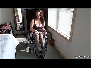 Wheelchair Porn - Be My Slave - Sexy Para