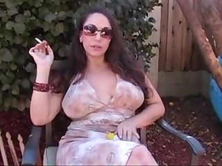 Milf smoking masturbating and talking dirty