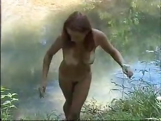 Russian ama first outdoor ass fucking video