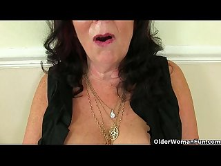 British milfs amy and zadi love that stuffed feeling