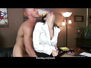 Hottest office fuck with busty chick 2