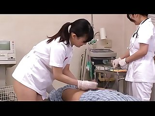 Japanese nurses take care of patients
