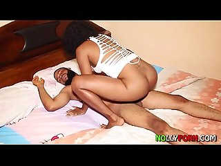 She Sneaked And Fucked Him When He Was Sleeping He Woke Up And Caught Her - NOLLYPORN