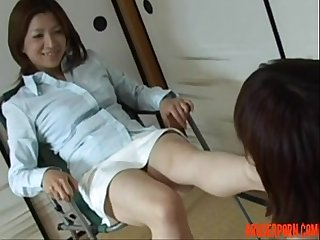 Asian Dominatrix Tied Slave Girl submissive submissive