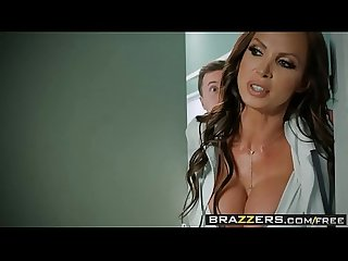 Brazzers doctor adventures dick stuck in Fleshlight scene starring briana banks Nikki benz and J