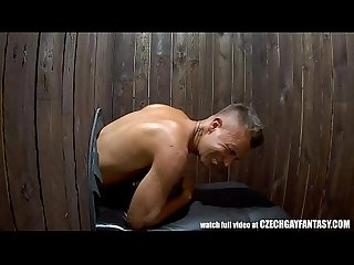 Fantasy gay glory hole fucking