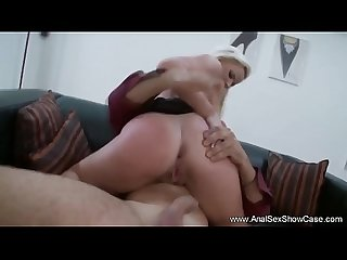 Euro Blonde Deep Anal Gaping Asshole
