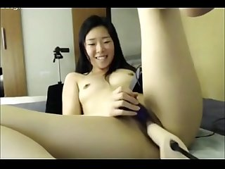 Fucking Machine on Cam Asian