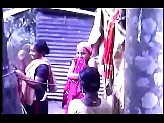 South Indian Mallu Taking Bath Outside Video part-6