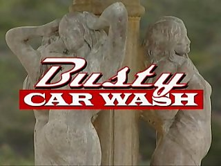 Erica Campbell - Busty Carwash