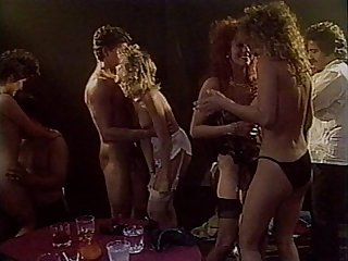 Candy evans peter north krista lane ron jeremy vintage orgy