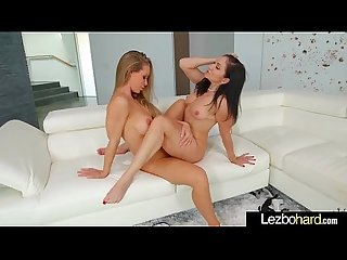 Hot Sex Scene With Teen Horny Lesbo Girls (Nicole Aniston & Lea Lexis) video-26