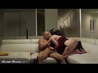 Sweetsinner gia stepdad have romantic sensual sex