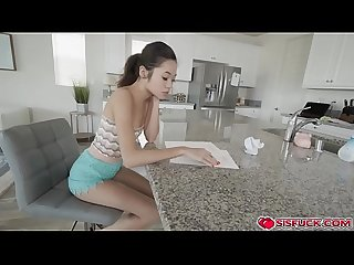 Vina rocks off stepbro s cock