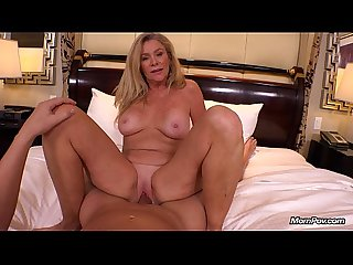 Cougar loves young cock pov
