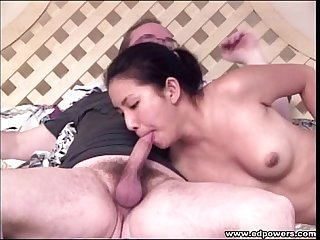 Ed powers oral Sex with lieng lu