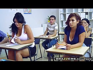 Brazzers - Big Tits at School - Big Tits In History Part 3 scene starring Ashley Downs Emma Leigh an