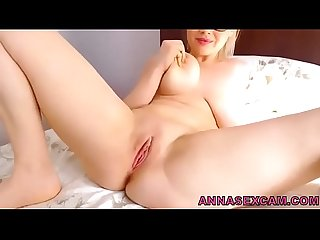 Natural busty blonde turned me lesbian colon rpar annasexcam period com