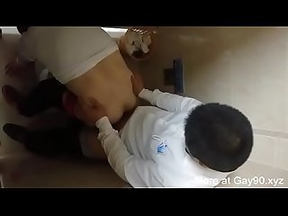 A asian guy fuck his boss in Toilet on work sneakshot gay90 Xyz