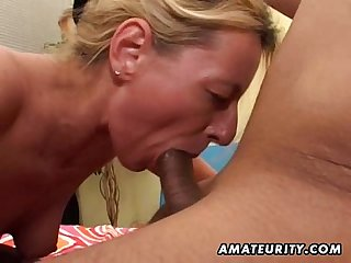 Amateur milf homemade anal with huge facial cumshot