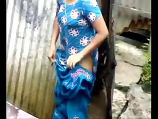 Desi Girl Bathing