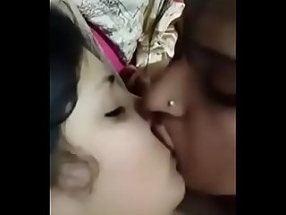 Bhabhi enjoys lesbian sex with her horny sister in law