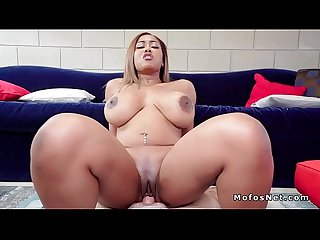 Huge tits ebony caught masturbating