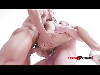 Airtight DP fucking with hot colombian slut Veronica Leal SZ2156