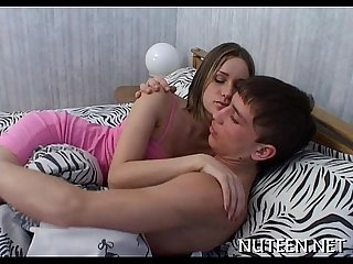 Amazing horny legal age teenager