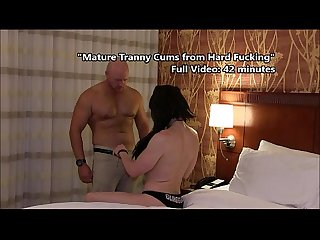 Ts kimber haven cums hard from deep fucking