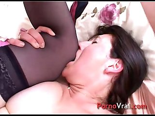 Mature timid is well fucked by a stranger
