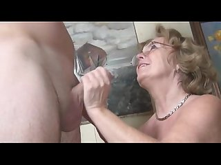 Two married mature ladies enjoying one cock