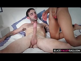 Pretty Ebony Gal Jenna Foxx Gets Slammed