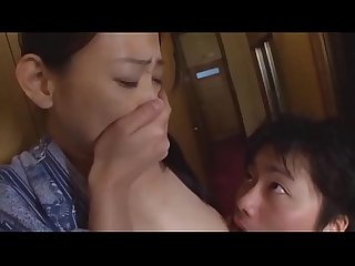 Japanese Mom And Son First Time
