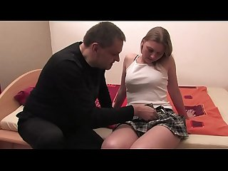 Free version - My father has it so small that I pretend to enjoy, but he cums