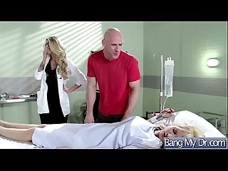 Sex Between Doctor And Hot Slut Patient (jessa rhodes) clip-19