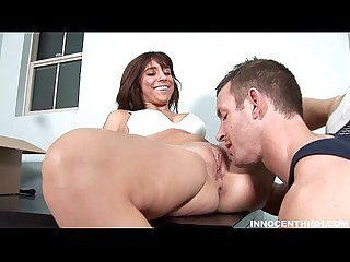 Hot ass latin bella rey fucked hard by the school dean