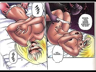 Huge breast Anime bdsm comic
