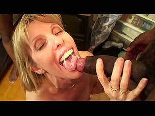 Carol Fucks Two Big Beautiful Black Cocks