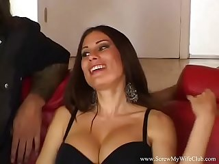 Greek housewife swings for husband