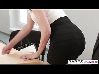 Babes - Office Obsession - (Rico Simmons Lynna Nilsson) - Through the Glass Wall