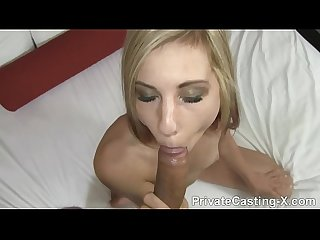 Private Casting X - That's how Tysen Rich you give a facial!