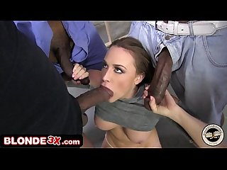 Big Tit Chanel Preston Forced Into Rough Interracial Gangbang