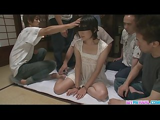Mega gangbang fucked the hell out of little ito aoba