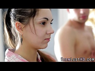 Rimmed teen swallows cum